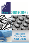 Business Telephone User Guide
