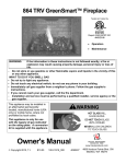Owner`s Manual - Travis Industries Dealer Services Login Page