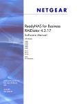 ReadyNAS for Business Software Manual