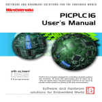 PICPLC16 Manual - MikroElektronika