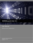 WANGuard Platform 3.0 User Manual