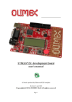 STM32-P152 development board user`s manual