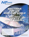 SOLUTIONS FOR THE WIRELESS WORLD