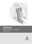 ACTitouch ™ Adaptive Compression Therapy