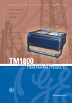 tm1800™ circuit breaker analyzer system