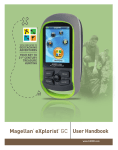 Magelan GPS Systems User Manual