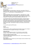 News Letter - Ronald B. Parks, Free Medical Billing Software Offer