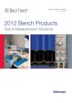2012 Bench Products