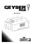 Geyser RGB User Manual Rev. 7