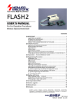FLASH2 User`s Manual
