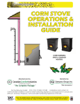 corn stove operations & installation guide