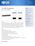 7-Port USB 2.0 Hi-Speed Hub Specifications