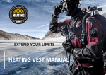 HEATING VEST MANUAL