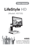 LifeStyle HD 730 User Manual