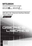 MELSEC-Q/L Ethernet Interface Module User`s Manual (Web function)