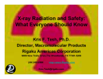 X-ray Radiation and Safety: What Everyone Should Know