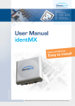 User Manual identMX - Mikrocontroller.net