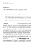 The Design of a Chemical Virtual Instrument Based on LabVIEW for