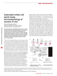automated whole-cell patch-clamp electrophysiology of neurons in