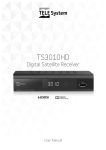 Satellite Receiver TS3010HD User manual Code