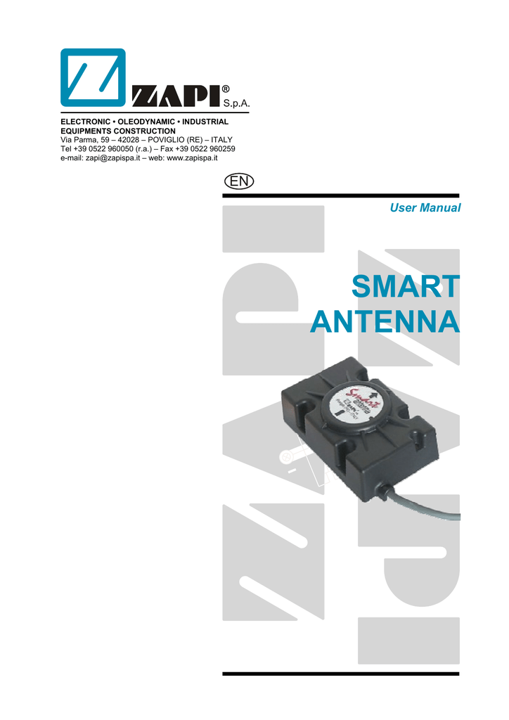 smart antenna zapi inc usa rh manualzilla com Zapis Do 1 Rocnika Tlacivo Violight Zapi Toothbrush Sanitizer