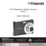 Polaroid i1037 User`s Manual