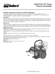 Bullard® Free Air® Pumps - Finishing Systems, Inc.