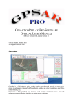 GPSACTIONREPLAY-PRO SOFTWARE OFFICIAL USER`S MANUAL