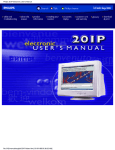 Philips 201P Electronic User`s Manual