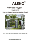 Wireless Keypad