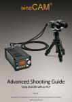 sinaCAM Advanced Shooting Guide Rev 1.2