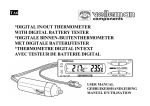 *DIGITAL IN/OUT THERMOMETER WITH DIGITAL