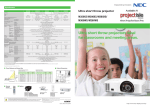 Ultra short throw projectors ideal for classrooms and