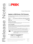 3000 TS2 Firmware Release Notes