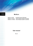 Multicon User Manual