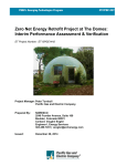 Zero Net Energy Retrofit Project at The Domes: Interim Performance