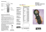 Oilcheck Portable Oil Monitor User Manual The Ch