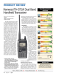 Kenwood TH-D72A Dual Band Handheld Transceiver