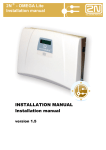 2N OMEGA Lite - Installation manual LŠ 1338v.1.5