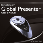RemotePoint Global Presenter User Manual