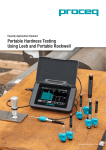 Portable Hardness Testing Using Leeb and Portable