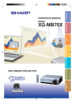 XG-MB70X Operation Manual