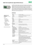HOBO MX Temp/RH Data Logger (MX1101) Manual