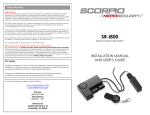 SR-i800 Installation & User Manual