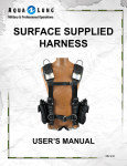 surface supplied harness user`s manual