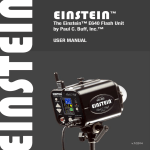EINSTEIN™ - Paul C. Buff, Inc.
