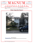 Townhome Inspection Report
