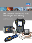 SKF condition monitoring tools, technologies and
