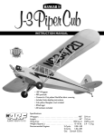 1/4 Scale Cub Manual - Hangar-9