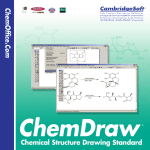 ChemDraw User`s Manual